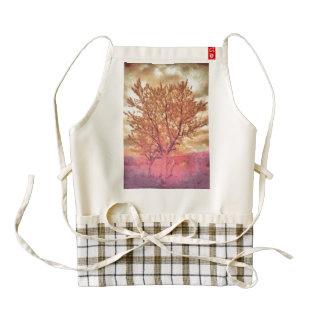 Tree painting zazzle HEART apron