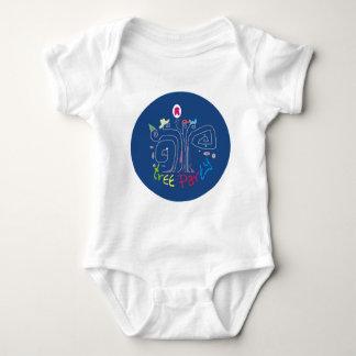 Tree Party Baby Bodysuit