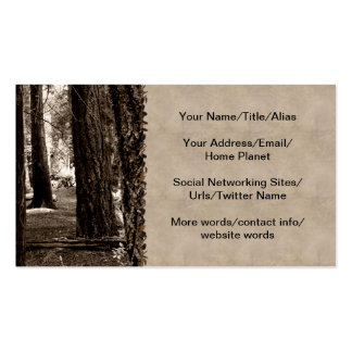 TREE PATH Double-Sided STANDARD BUSINESS CARDS (Pack OF 100)