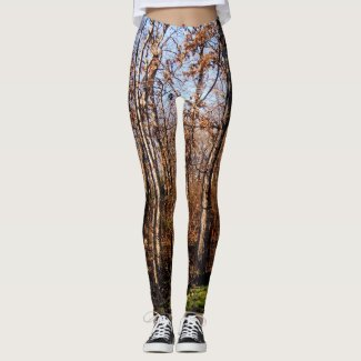 Tree Pattern Camouflage Leggings