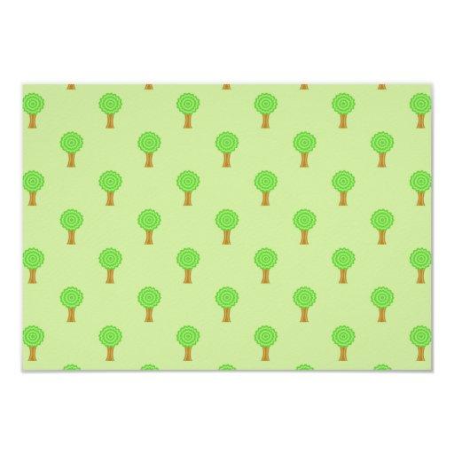 Tree Pattern. Card