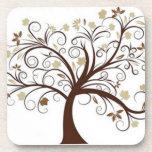 Tree Pattern Coaster