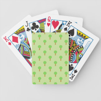 Tree Pattern. Deck Of Cards