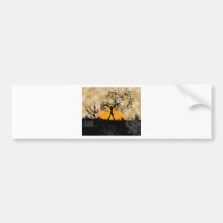 Tree people bumper sticker