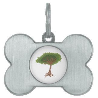 tree pet tag