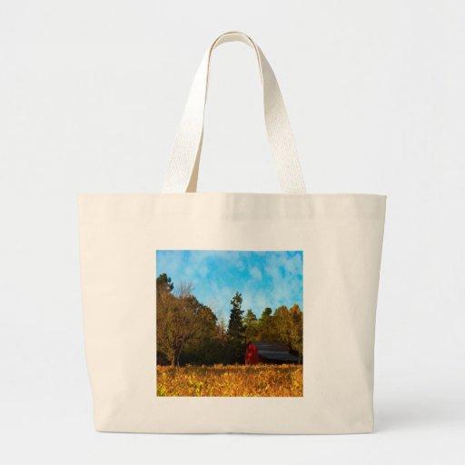 Tree Piney Grove Farm Canvas Bag
