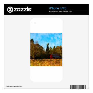 Tree Piney Grove Farm Skins For The iPhone 4