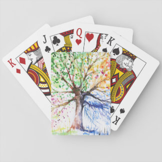 Tree Playing Cards