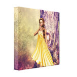 Tree Princess Gallery Wrapped Canvas