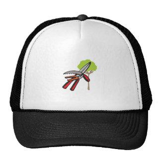 TREE PRUNING TRUCKER HAT