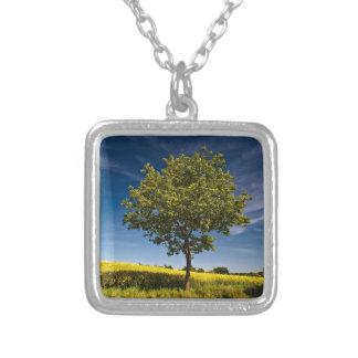 Tree, rape and blue sky / Baum, Raps und Himmel Necklace