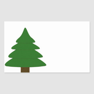 Tree Rectangular Sticker