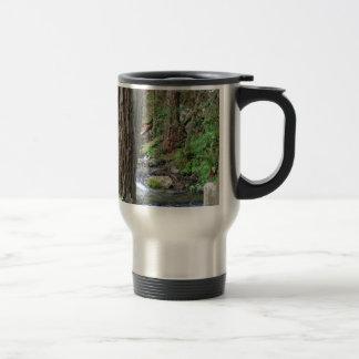 Tree Redwood Stream Travel Mug