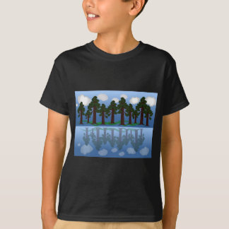 tree reflection T-Shirt