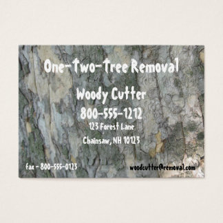 Tree Removal Business Card