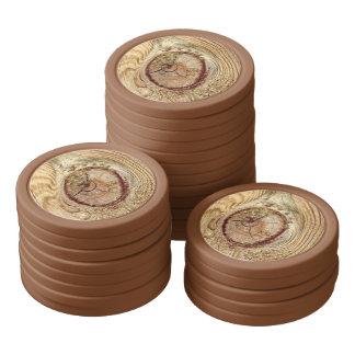 Tree Rings 2 Poker Chips