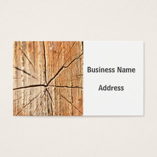 Tree Rings Business Card