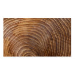 Tree rings Double-Sided standard business cards (Pack of 100)