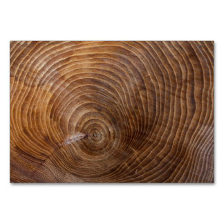 Tree rings card