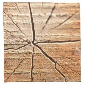 Tree Rings Cloth Napkin
