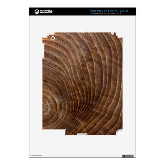 Tree rings decal for iPad 3