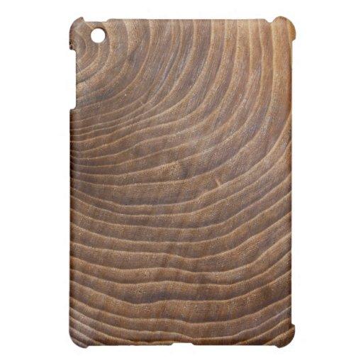 Tree rings iPad mini cover