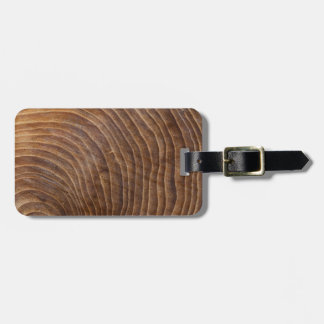 Tree rings tags for bags