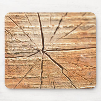 Tree Rings Mouse Pad