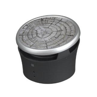 Tree Rings on weathered Stump Texture Bluetooth Speaker