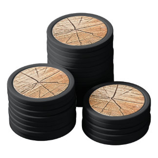 Tree Rings Poker Chips Set
