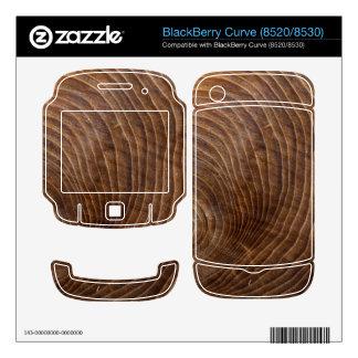Tree rings BlackBerry skins