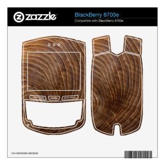 Tree rings skin for BlackBerry 8703e