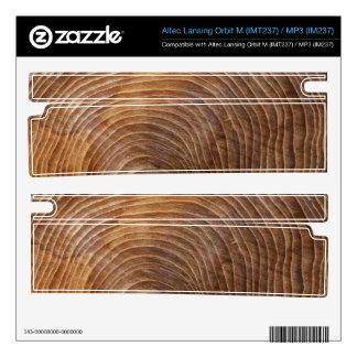 Tree rings orbit m speaker skin