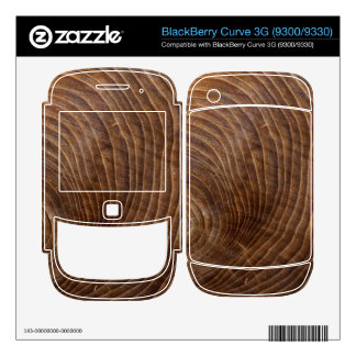 Tree rings BlackBerry decal