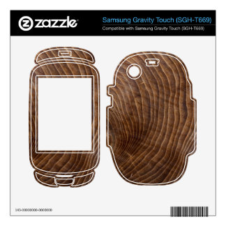 Tree rings samsung gravity touch skins