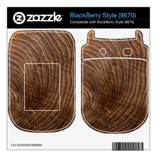 Tree rings BlackBerry style skin