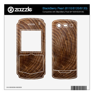 Tree rings decals for BlackBerry