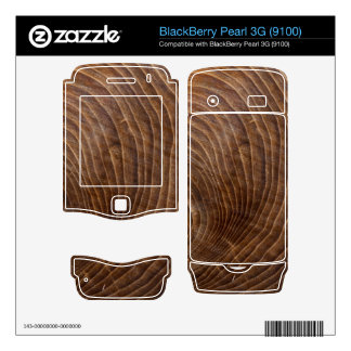 Tree rings BlackBerry pearl skin