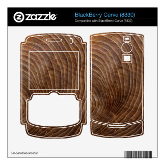 Tree rings BlackBerry curve decals