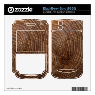 Tree rings BlackBerry skin
