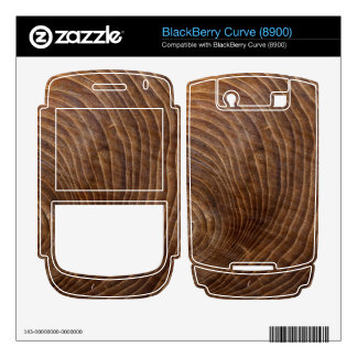 Tree rings decal for BlackBerry