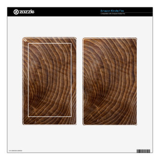 Tree rings decals for kindle fire