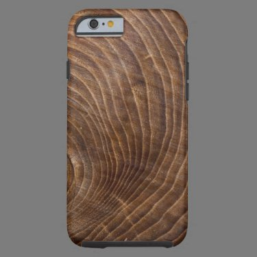 Tree rings tough iPhone 6 case