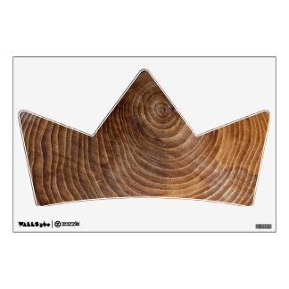 Tree rings wall decal