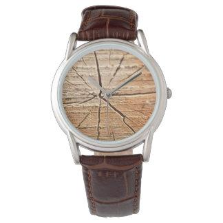Tree Rings Wristwatch