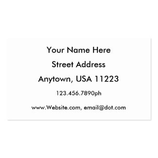Tree Roots B/W Double-Sided Standard Business Cards (Pack Of 100)