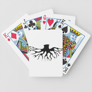 Tree Roots Bicycle Playing Cards