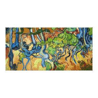 Tree Roots by Vincent van Gogh (July 1890) Canvas Print