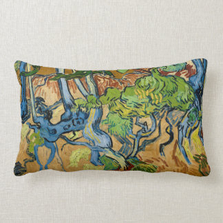 Tree Roots by Vincent van Gogh (July 1890) Lumbar Pillow