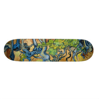 Tree Roots by Vincent van Gogh (July 1890) Skateboard Deck